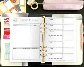 Printable Yearly Blog Planner - Blog Planning Kit - Social Media Planner - Blog Planner - Blog and Social Media Kit - Instant Download