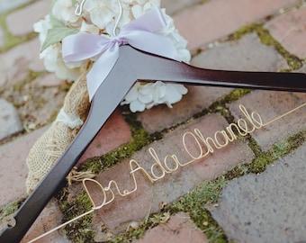 Doctor Hanger, PhD Graduation Gift, Medical School, New Doctor Gift, First White Coat, White Coat Ceremony, Lab Coat Hanger, Wedding Hanger