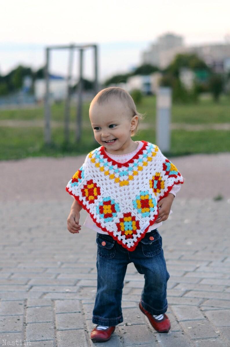 Baby girl poncho pattern Baby crochet cape pattern Crochet wrap pattern  Toddler poncho pattern Infant crochet patterns for newborn baby girl