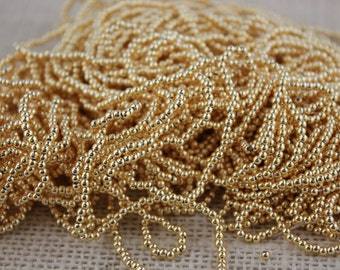 2mm Gold Vaccum Plated Made in Japan (200 pieces)