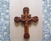 "10"" Wooden Crucifix ..."