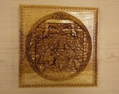 Wood Carved Nativity ~ Ch...