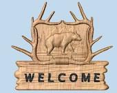 Cabin Bear Sign ~ Bear De...