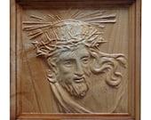 Jesus Sculpture Wood Carv...