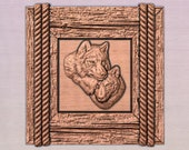 Wolf Wall Art, Wolf Rustic Decor, Wolf Wood Carving, CabinLife Decor, Rustic Home Decor, Cabin Decor, Man Cave Wall Decor, Wood Anniversary