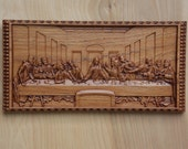 Last Supper Carving, Leon...