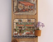 Red French Country Wall D...