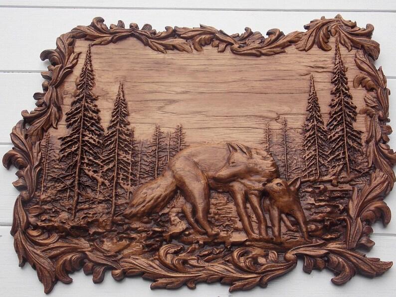 Wolf totem etsy