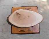 Wood Slice Guest Book, Li...