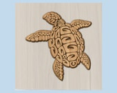 WOOD WALL ART ~ Turtle Wo...