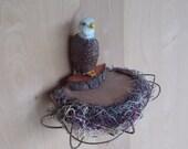 Eagle, Sculpture, Wall Sc...
