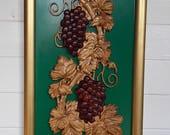 Framed Grapevine Rustic K...