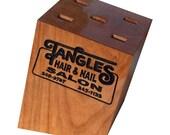 Black Scissor Case ~ Wood...