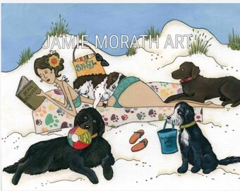 Being Rescued, Newfoundland dog, Portuguese Water dog, Chesapeake Bay Retriever, Rescue dog, Spinger Spaniel  adopt
