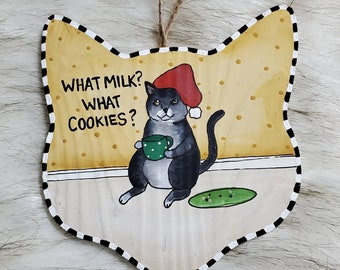 What milk? What cookies?
