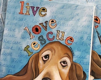DISCOUNTED Rescue Basset