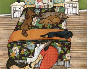Bed of Wieners