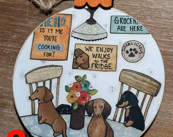 DOXIE KITCHEN ornaments