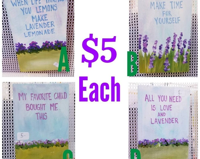 Discounted Lavender Wood