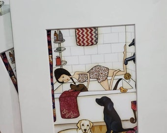 DISCOUNTED DOG PRINTS