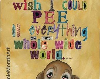 Sometimes I Wish, Bassett Hound dog