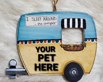 Personalized Camper Ornaments