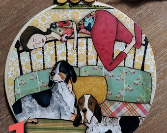 COONHOUND ornaments