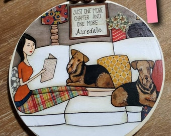 AIREDALE ornaments