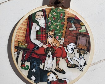 We Woof You ornaments