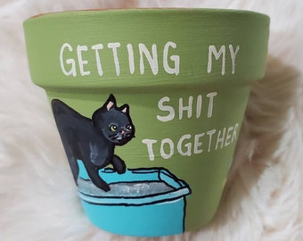 Green Shit Together pot