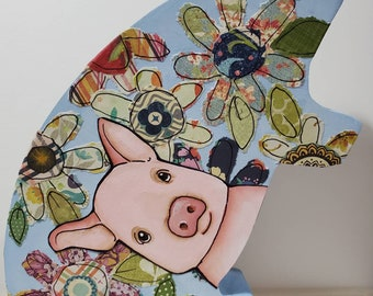 Pig Table Art