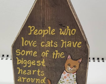 Biggest Hearts Cat House