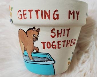 Cream Shit Together pot