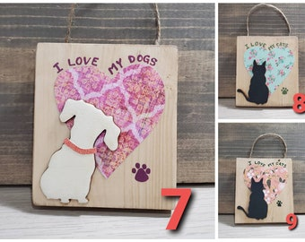 Cat/Dog wall hanging