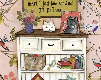 I'll Be There Cat