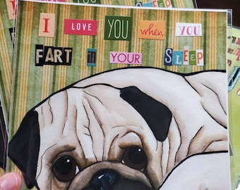 DISCOUNTED Fart Pug