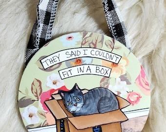 Fit in a Box ornament