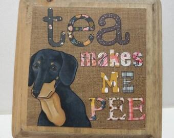 Tea Makes ornament