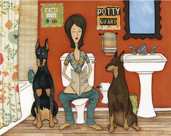Potty Guard DISCOUNTED PRINTS