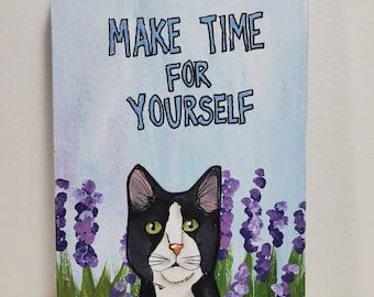 Make Time, original art