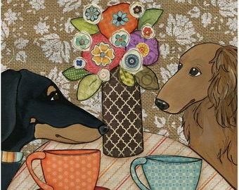 Tea Time, art print