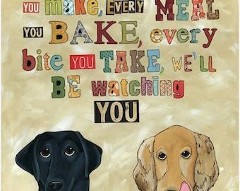 Be Watching You, art print