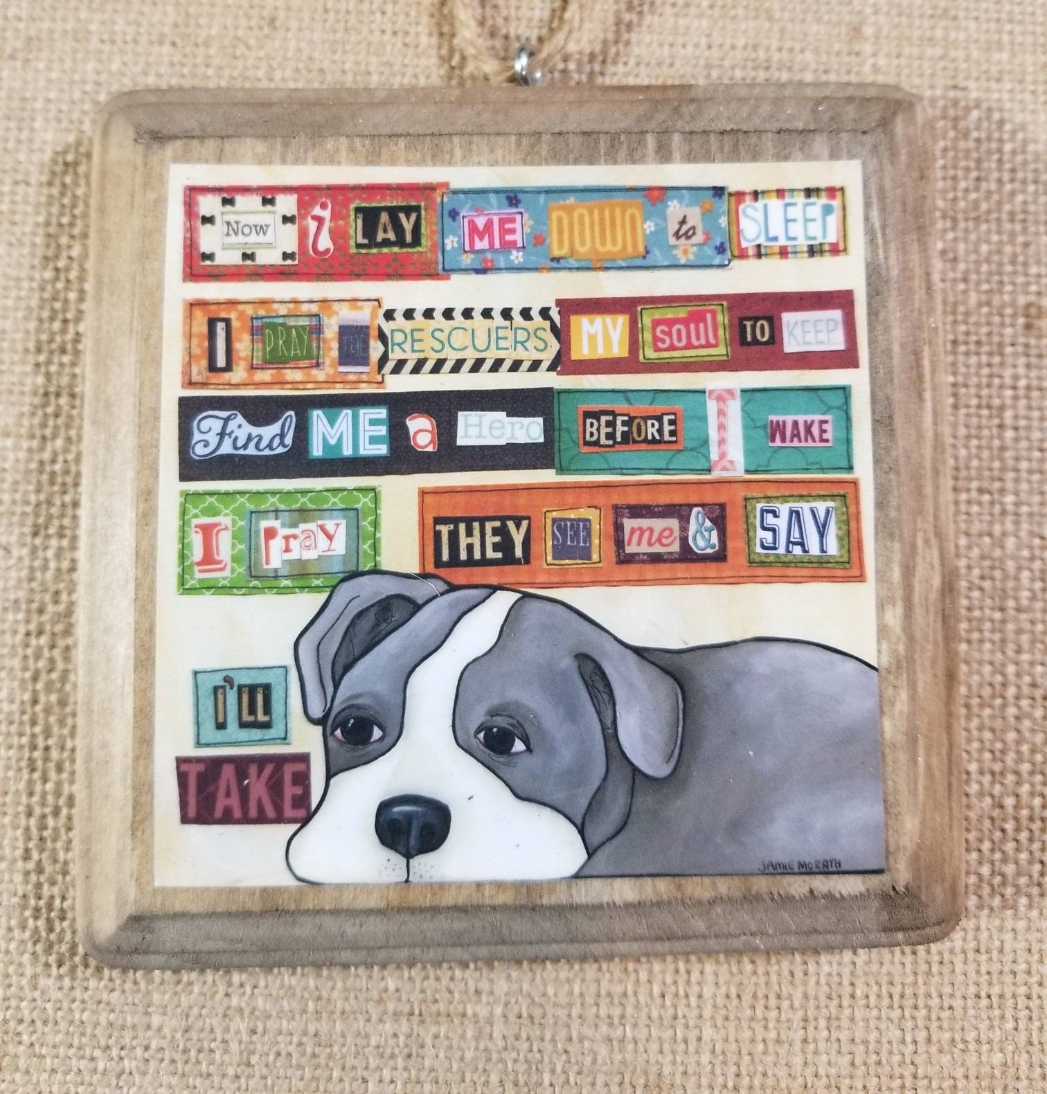 I\'ll Take, pit bull dog art, rescue dog, fostering, rescue ...