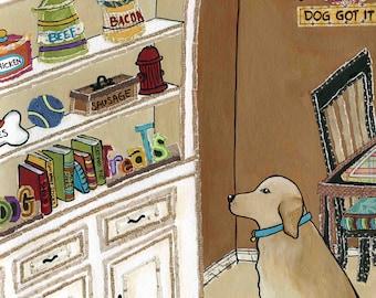 Gourmet Dog, Golden retriever, yellow Labrador