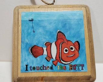 The Butt, fish ornament