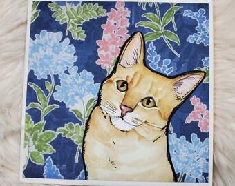 Kitty Treat coaster