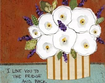 DISCOUNTED Fridge, art print
