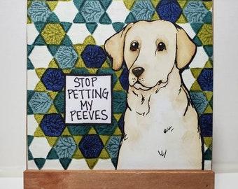 My Peeves, original painting