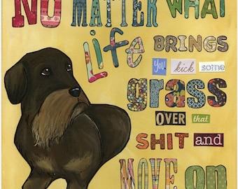 No Matter What, art print