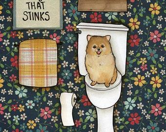 That Stinks, art print